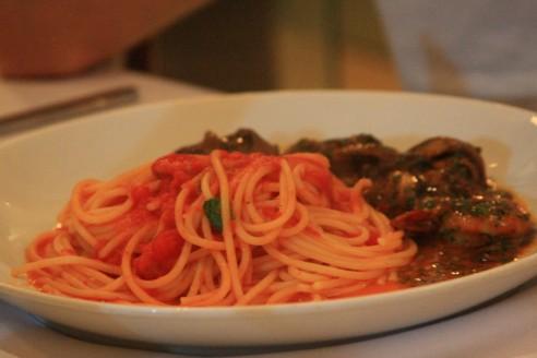 Espagueti de Frutos do Mar