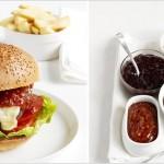Hambúrguer de Picanha com Pasta de Gorgonzola e Relish de Tomate