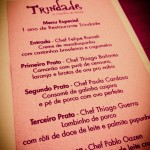 1 ano do Restaurante Trindade: A noite da libertação da gastronomia mineira por Eduardo Avelar