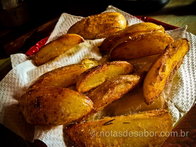 Batata Frita pronta para acompanhar Hambúrguer