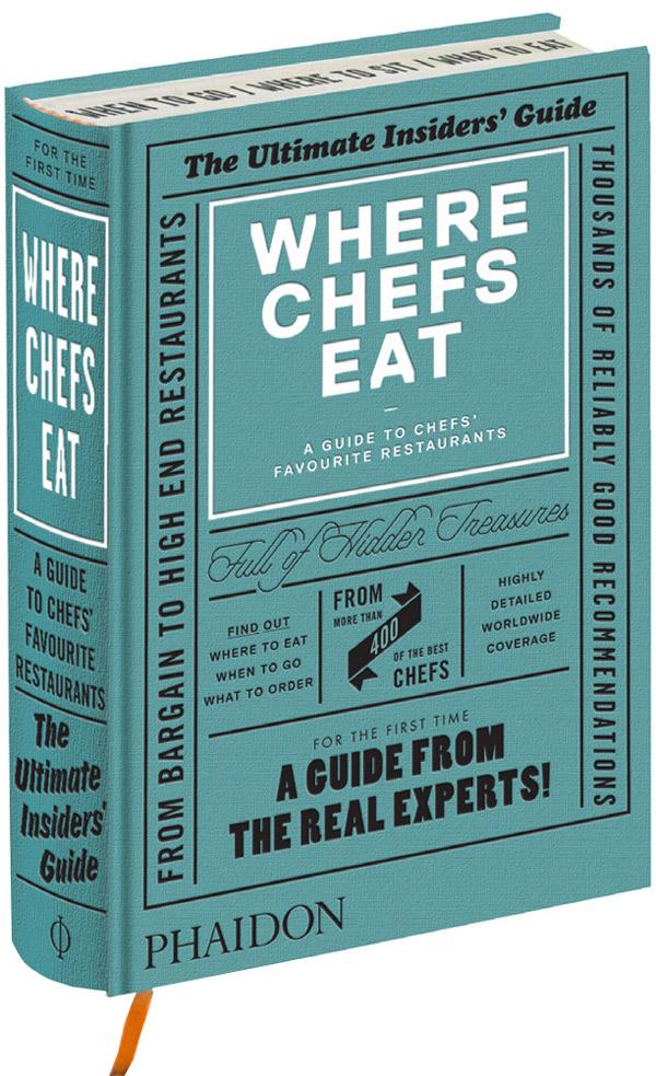 Where Chefs Eat - Livro Guia de Gastronomia