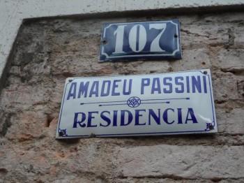 Est! Est!! Est!!! localizado na antiga casa do Sr. Amadeu Passini