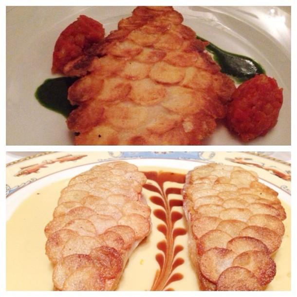 Peixe com Escama de Batata do Taste Vin