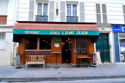 Restaurante em Paris (L'ami Jean)