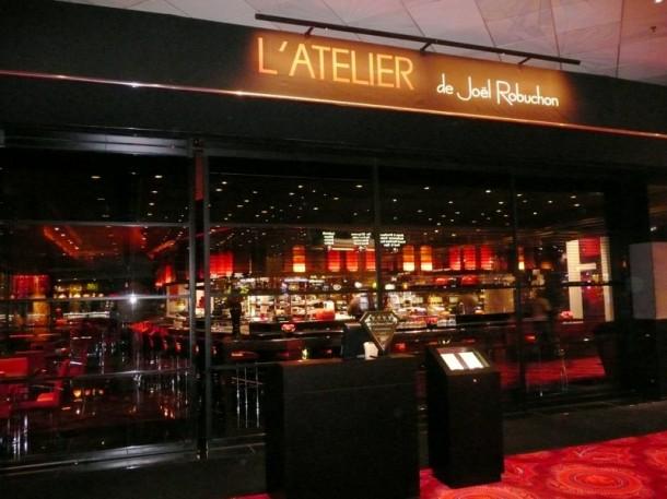 Restaurantes em Paris (L'atelier Joel Robuchon)