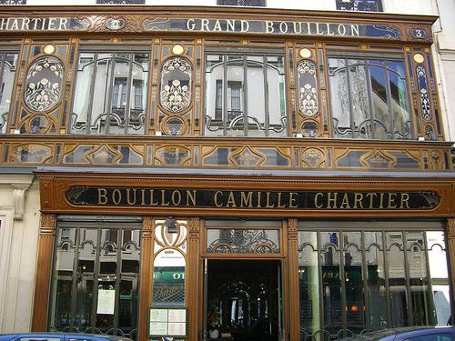 Restaurantes em Paris (Bouillon Racine)