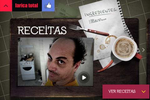 Larica Total - Aplicativo de Gastronomia