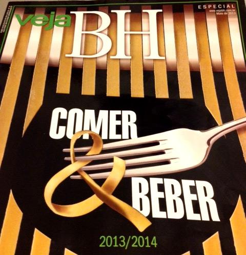 Revista Veja BH - Comer e Beber 2013/2014