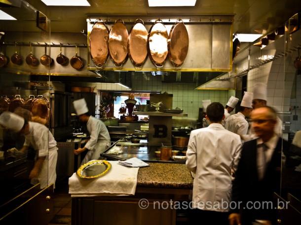 Cozinha do Restaurante Paul Bocuse