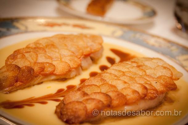 Peixe com escamas de Batata - Paul Bocuse