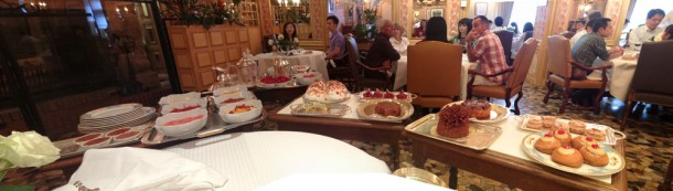 Sobremesa do Restaurante Paul Bocuse