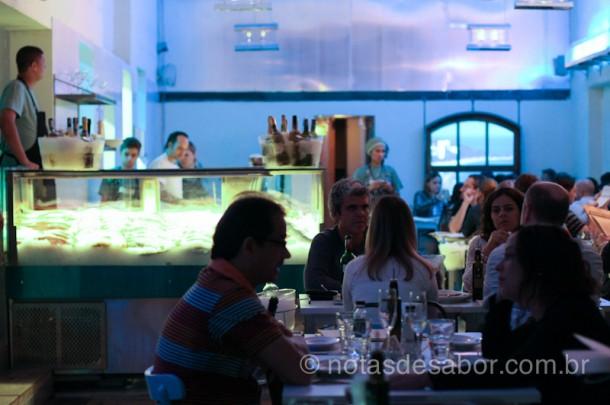 Restaurante Peixaria Pecatore - Salão