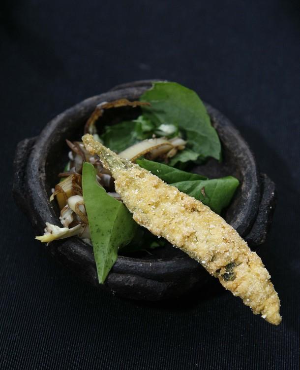 Prato releitura do Projeto Gastronomia no Morro