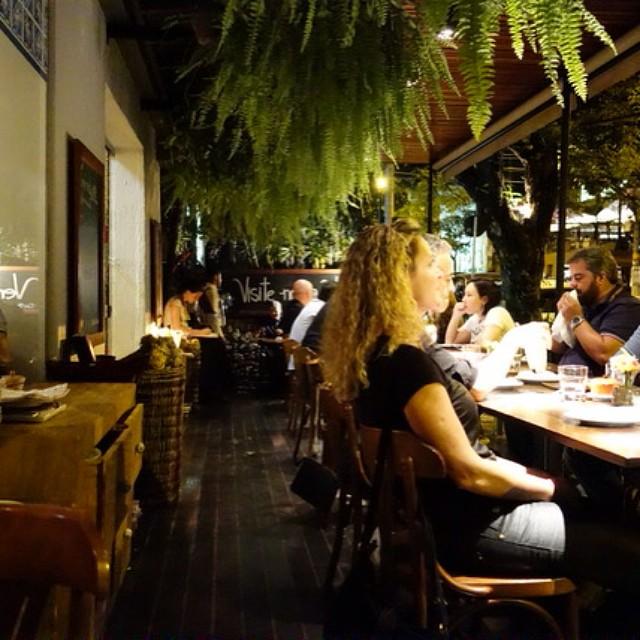 Varanda do Restaurante Trindade