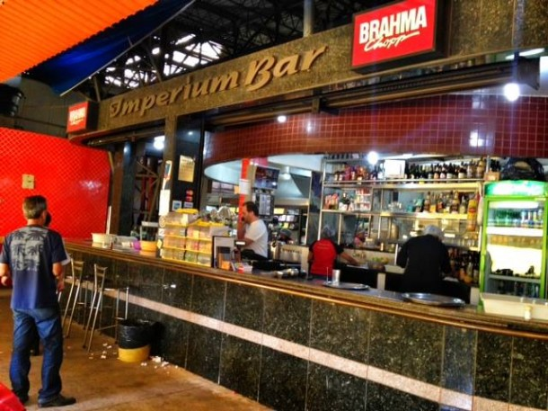Imperium Bar e Restaurante no Mercado Cruzeiro